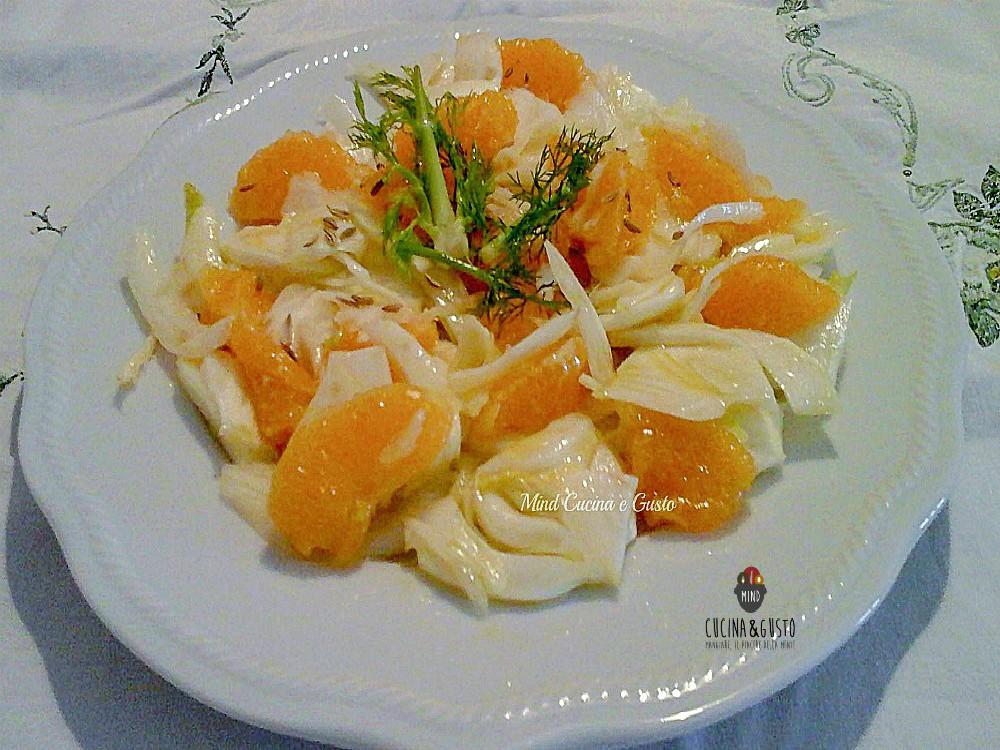 Insalata di finocchi e arance alla siciliana