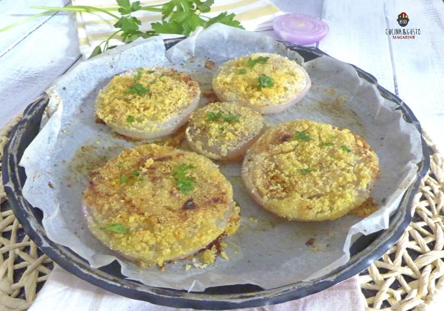 Cipolle al forno gratinate – ricetta facile