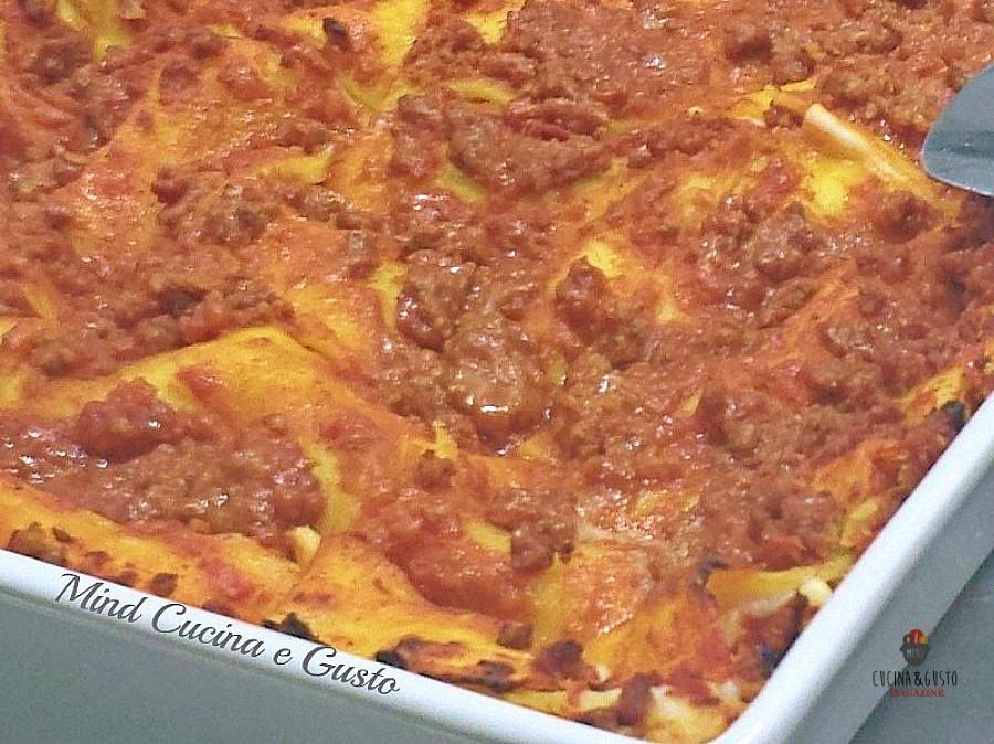 Lasagne al forno alla bolognese