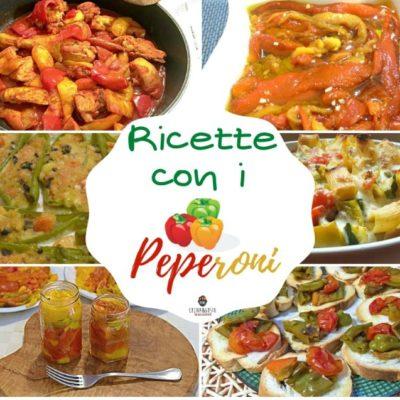 Ricette con i peperoni - raccolta imperdibile