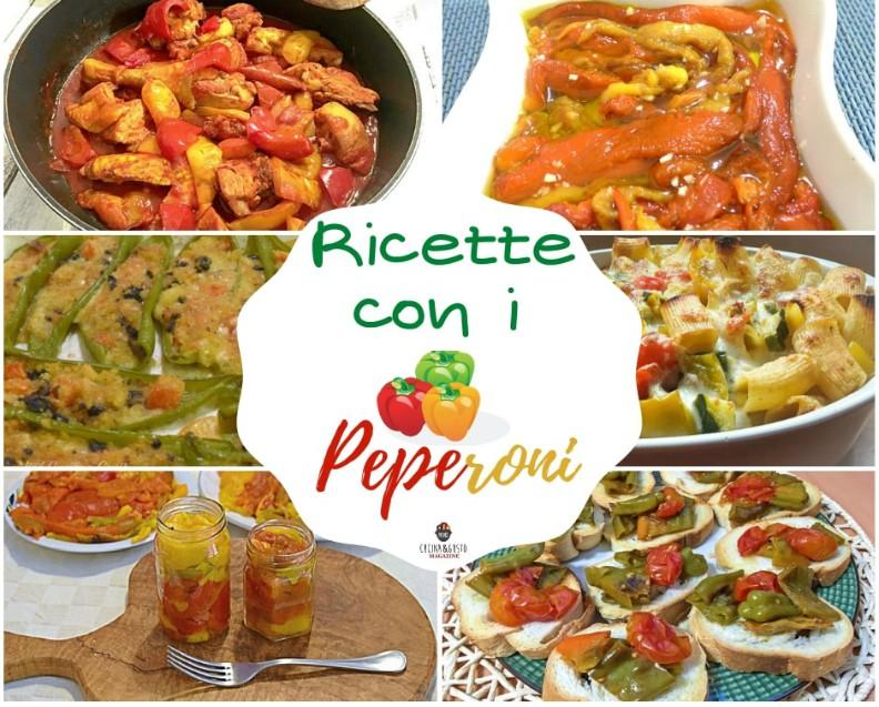 Ricette con i peperoni – raccolta imperdibile