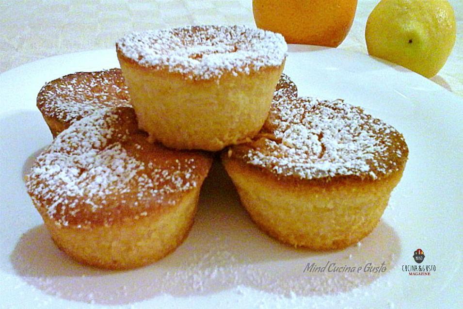 Muffin agli agrumi  – ricetta facile