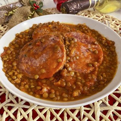 Lenticchie e cotechino – come preparare il piatto portafortuna