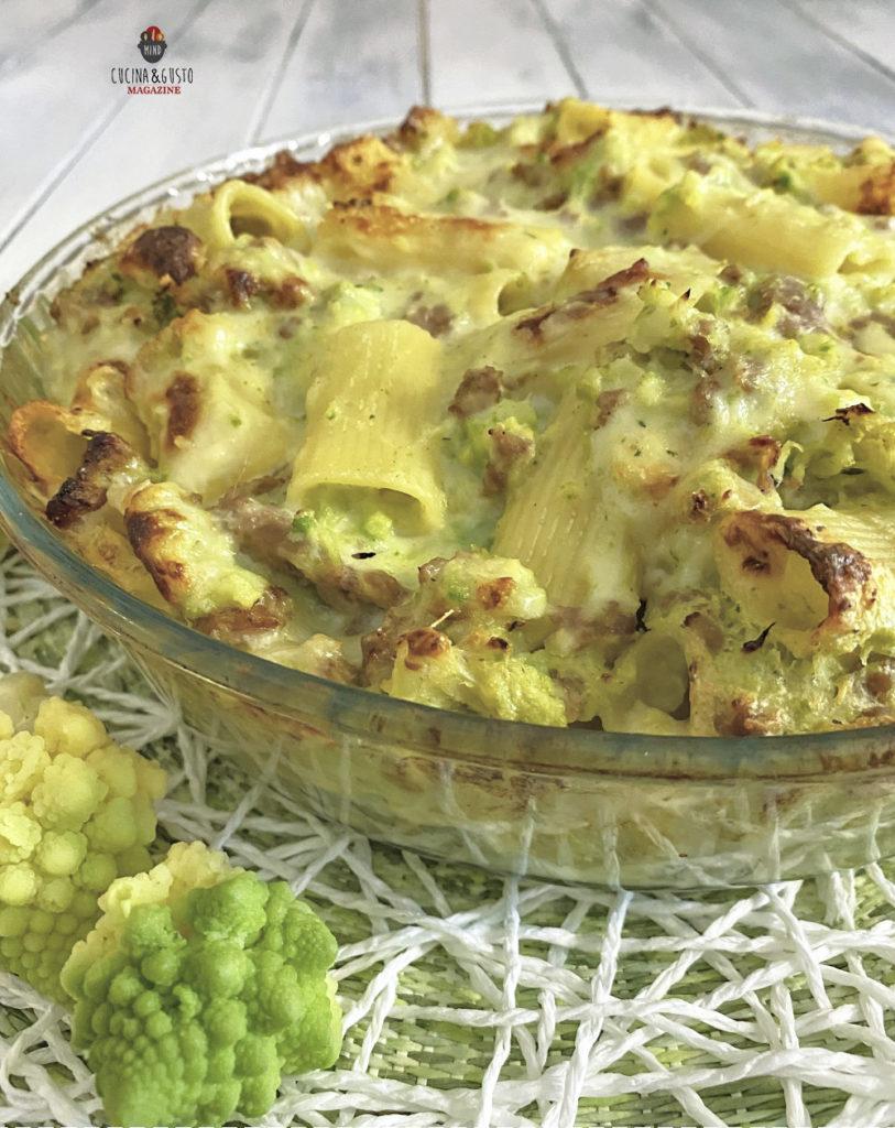 Pasticcio di Pasta al forno con broccoli e salsiccia - ricetta facile