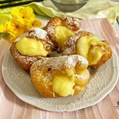 Bignè di San Giuseppe fritti – ricetta tradizionale