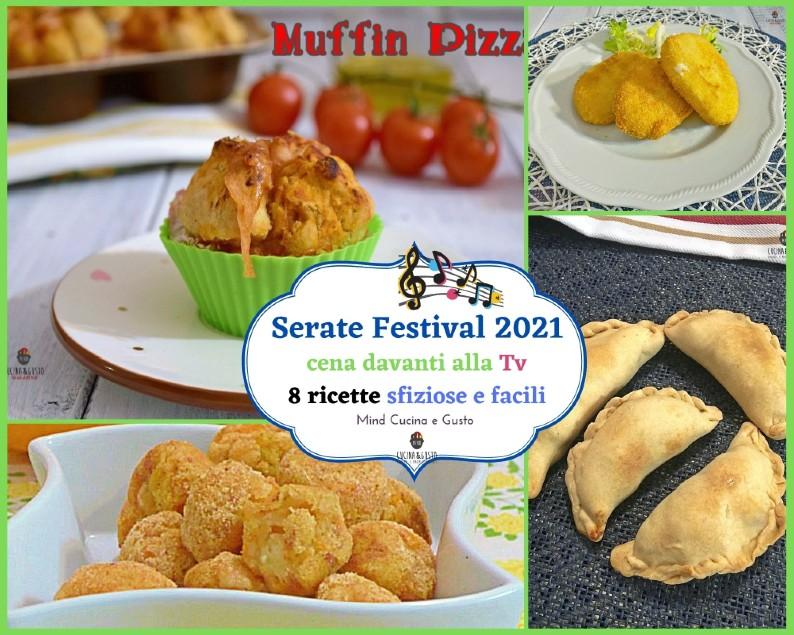 Serate Festival 2021, cena davanti alla Tv, 8 ricette sfiziose e facili