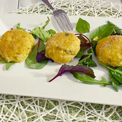 Polpette di merluzzo e patate con olive