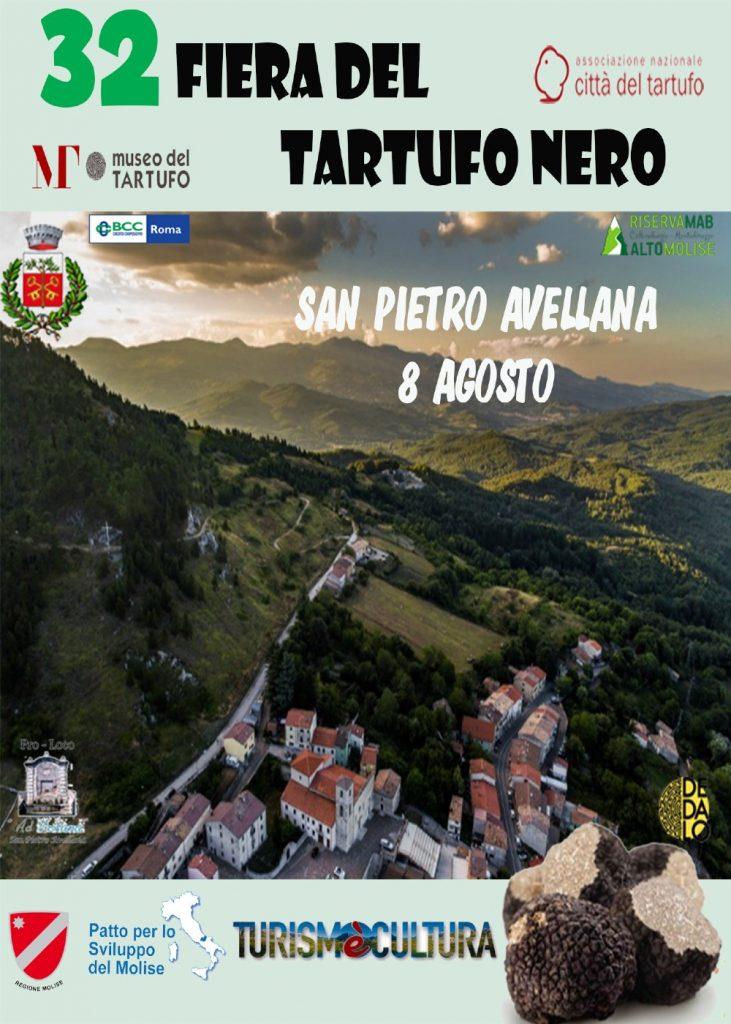 A San Pietro Avellana al via la 32° Fiera del Tartufo Nero tra stand, degustazioni e artisti di strada
